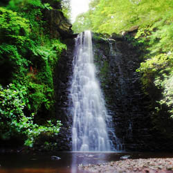 Falling Foss Waterfall - North Yorkshire Moors